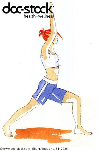 A woman with gymnastics