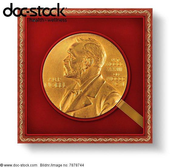 Nobelpreis, Alfred Nobel, Auszeichnung, Ehre, Ehrung, Goldmünze