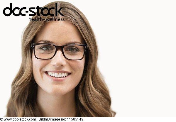 30 bis 40 Jahre,30-40 Jahre,Ansicht,Blick in die Kamera,braunhaarig,Brille