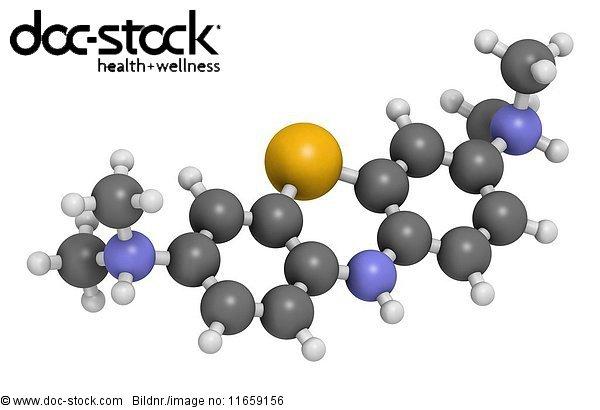 3D rendering,Alzheimer,Atom,Atomphysik,Biologie,blau